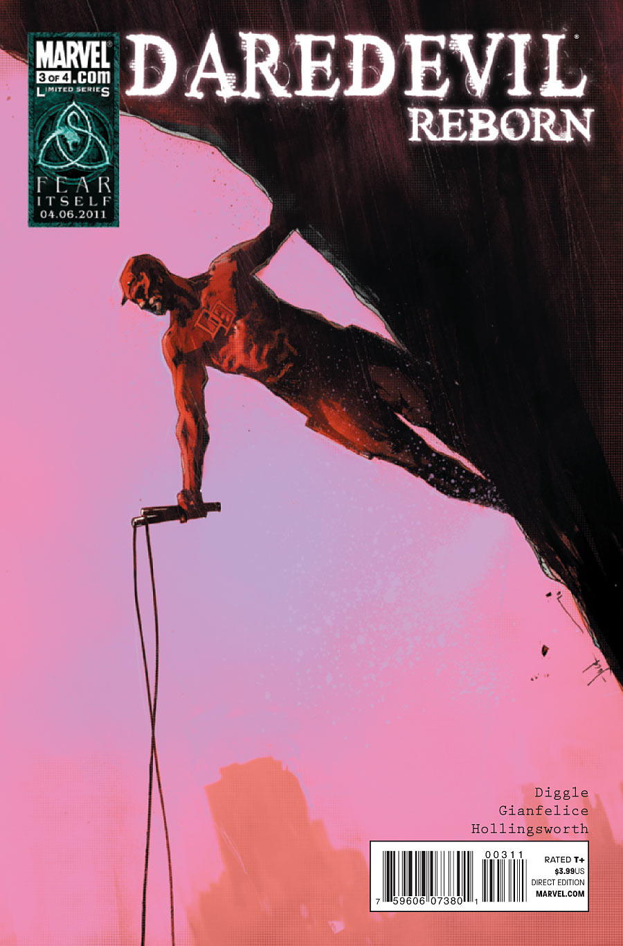 Daredevil Reborn #3 Cover