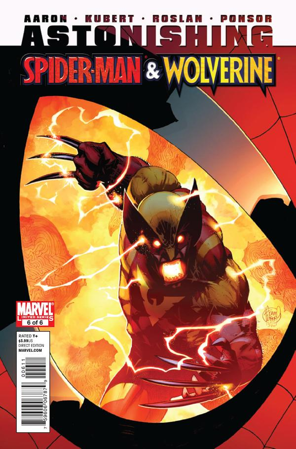 Cover by Adam Kubert and Justin Ponsor