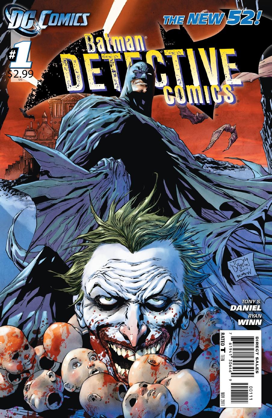 Detective Comics 1 Cover