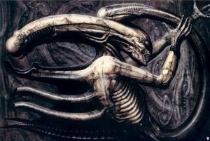 HR Giger Alien