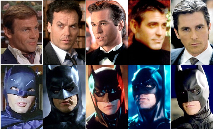 There are More Batman Actors than DC Character Movies