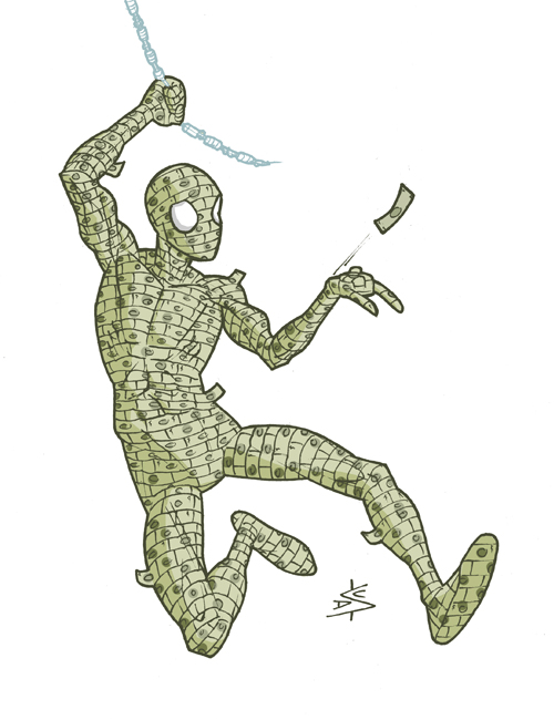 money-spider