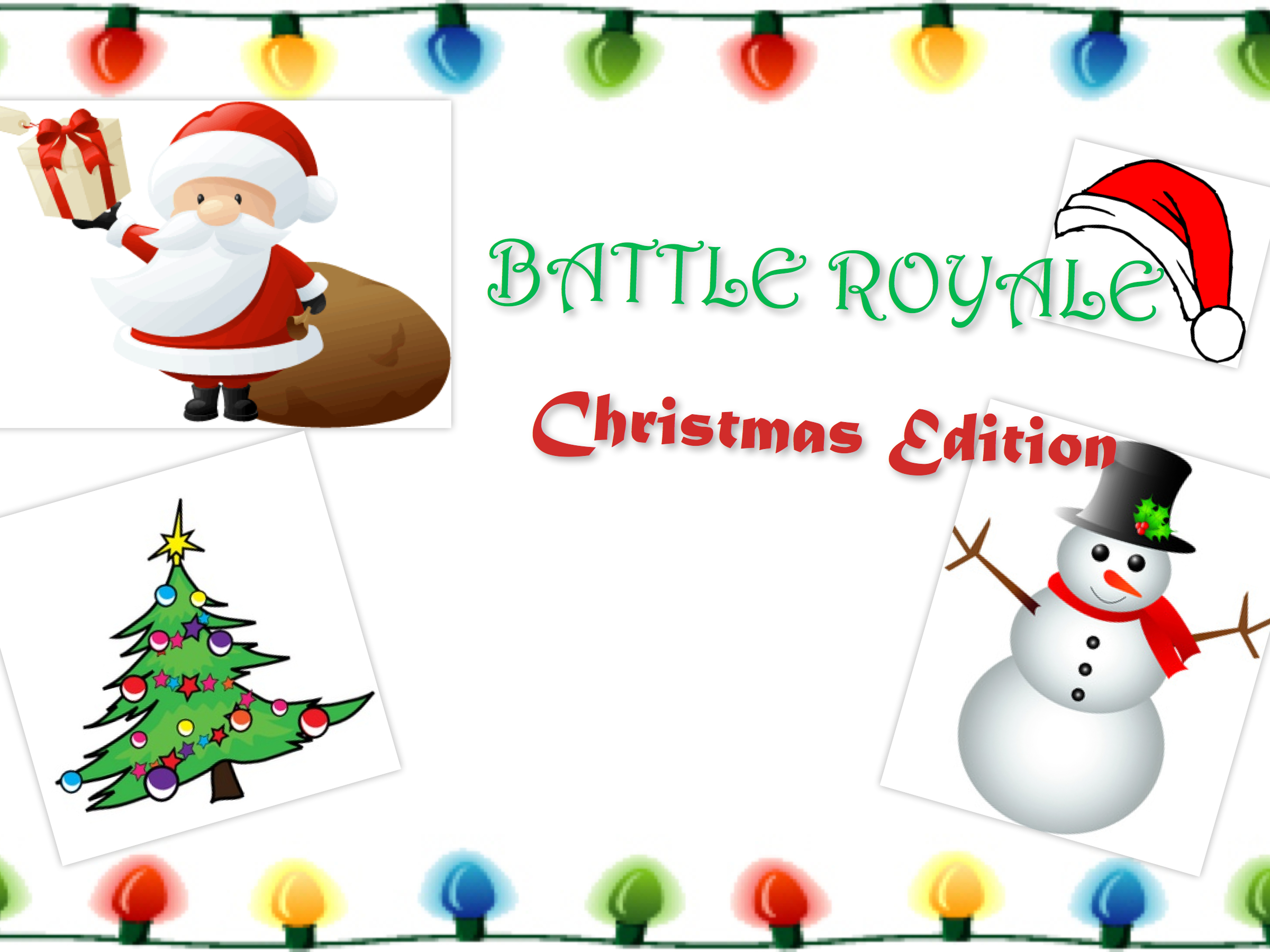 Battle Royale Christmas Edition
