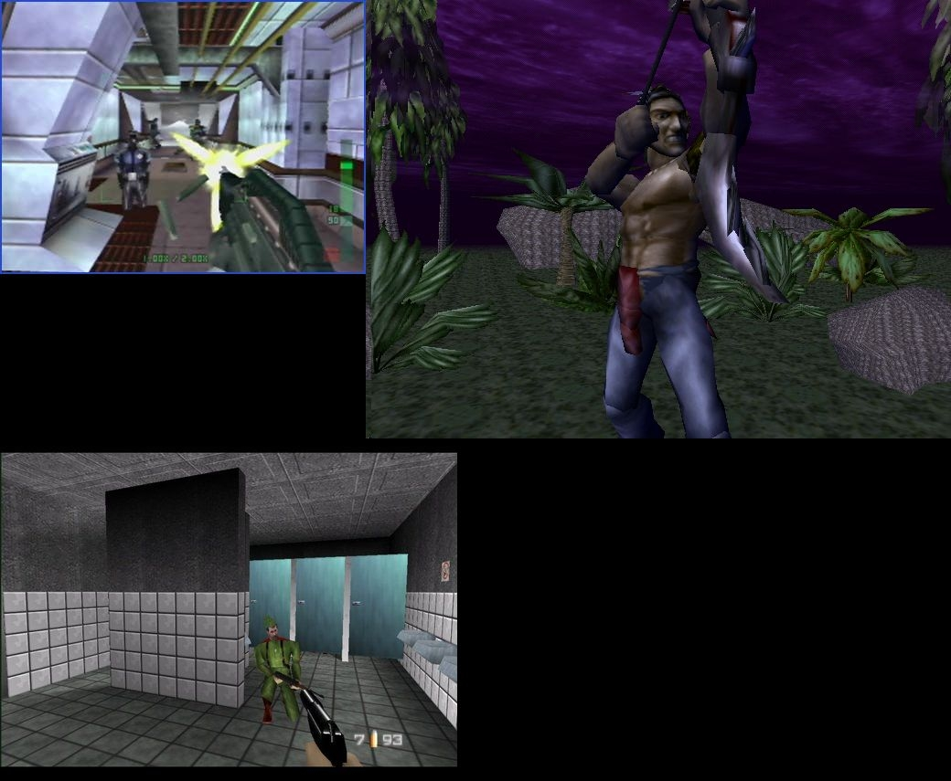 Nintendo-64-Shooters-Turok-Perfect-Dark-Goldeneye