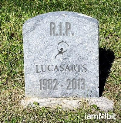 lucasarts gravestone