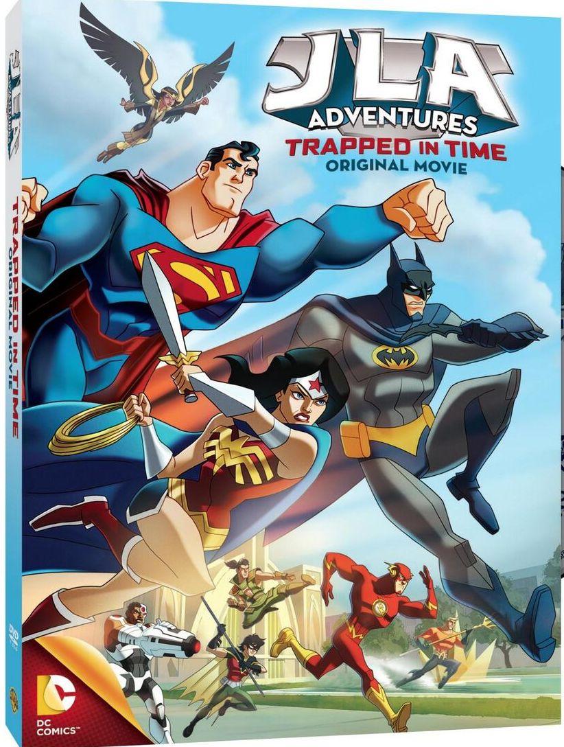Les Films D'Animations DC Comics - Page 9 JLAAdventures-Cover