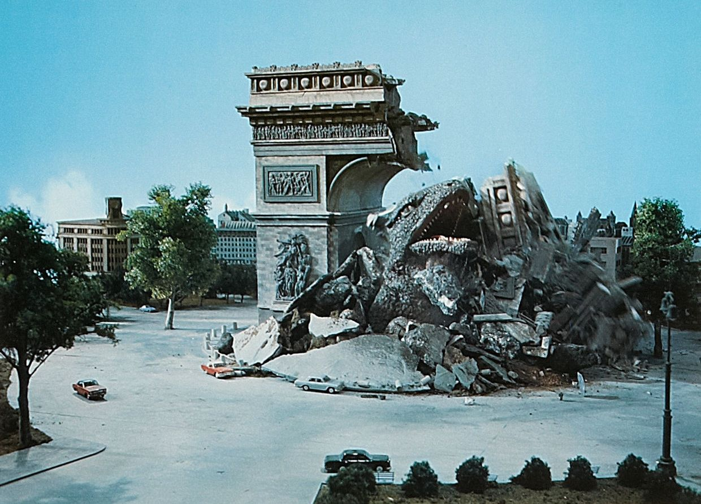 Destroy godzilla monster movie vhs