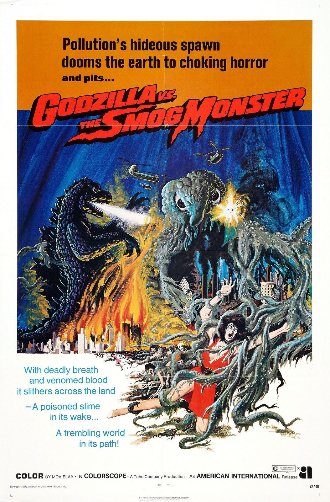 Godzilla Vs. Hedorah (the Smog Monster) 1971 | The Daily P.O.P.
