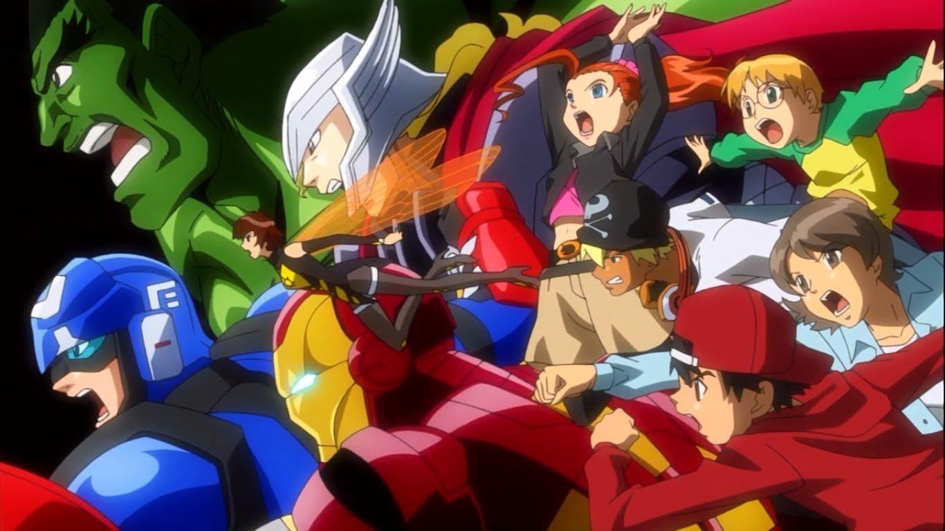 Review: Marvel Disk Wars: The Avengers Episode 1/2 – Nerds