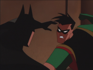 Robin_and_Batman_Fight