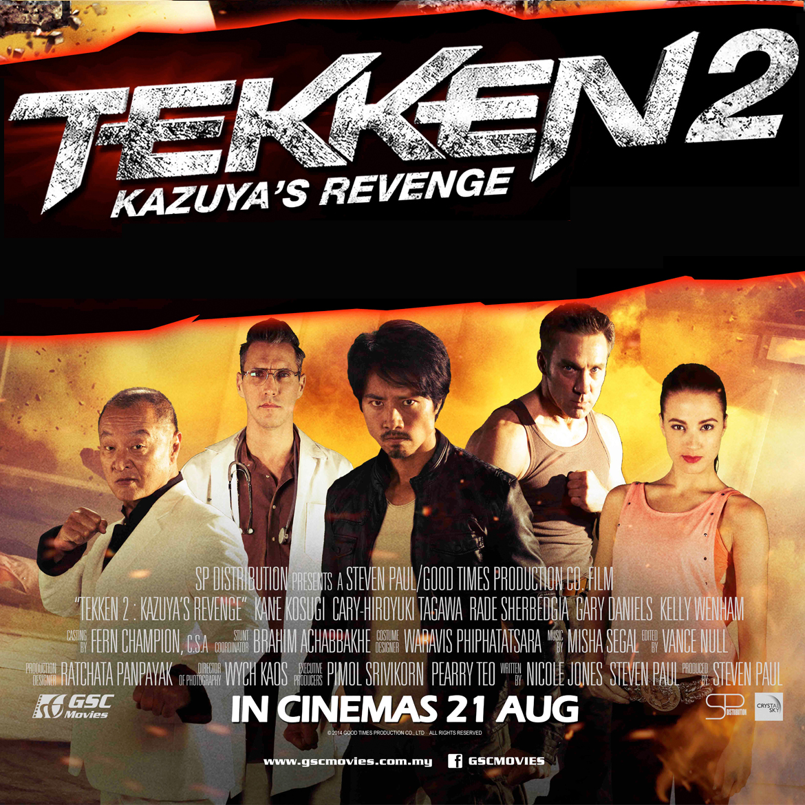 Review Tekken 2 Kazuya S Revenge Nerds On The Rocks