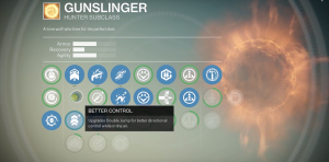 gunslinger skill tree