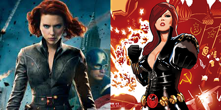black widow comics and mcu 2