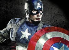 captain america pose