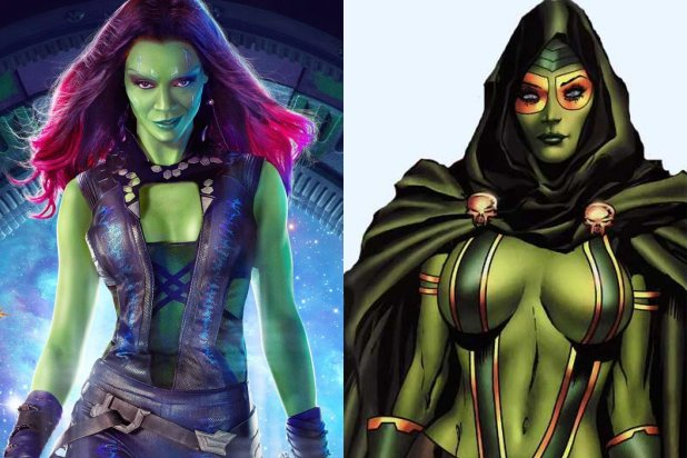 gamora mcu and comic