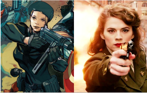 peggy comics vs movie