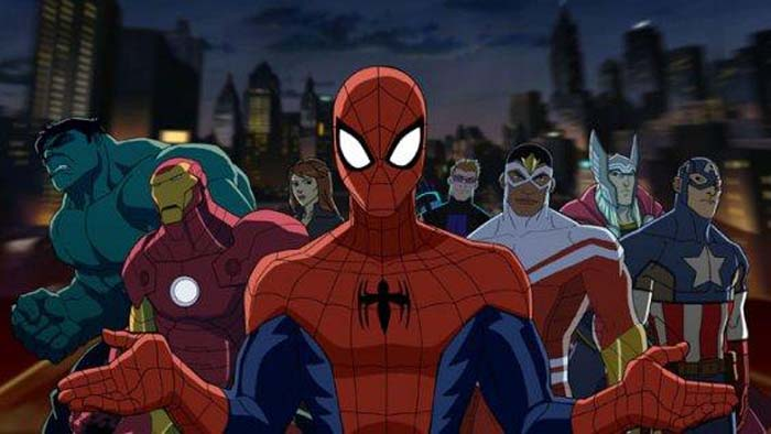 spidey and avengers