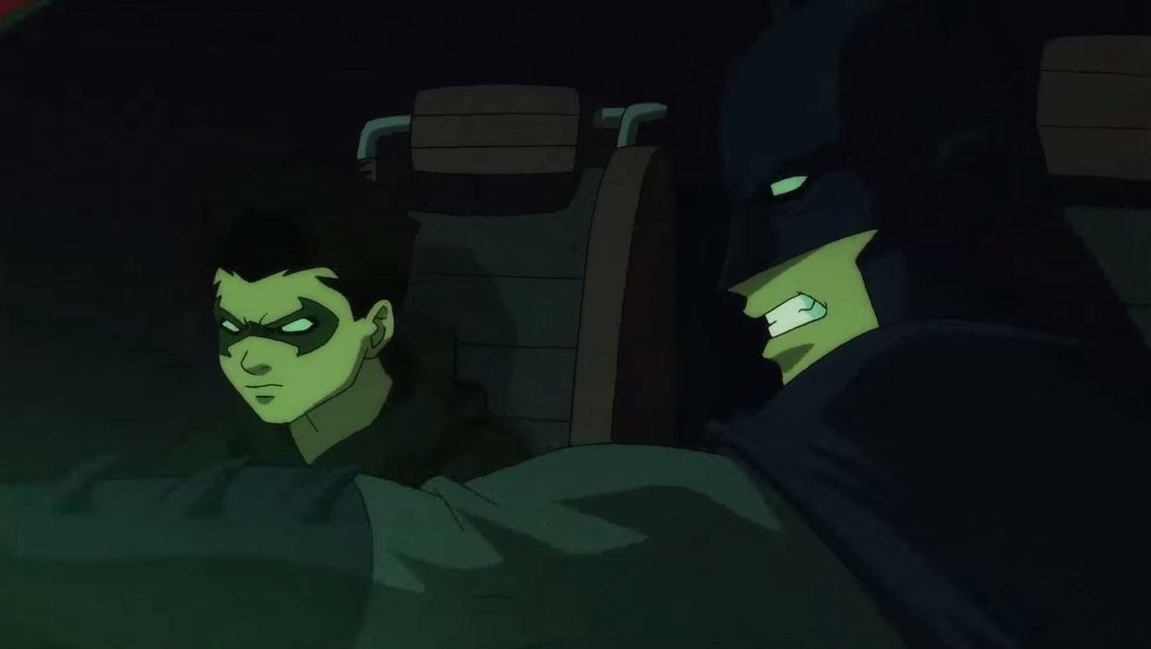 [DC Animated] - Batman: Silêncio, Legado de Sangue, Cinco Fatais, etc... - Página 2 DamianAndDick