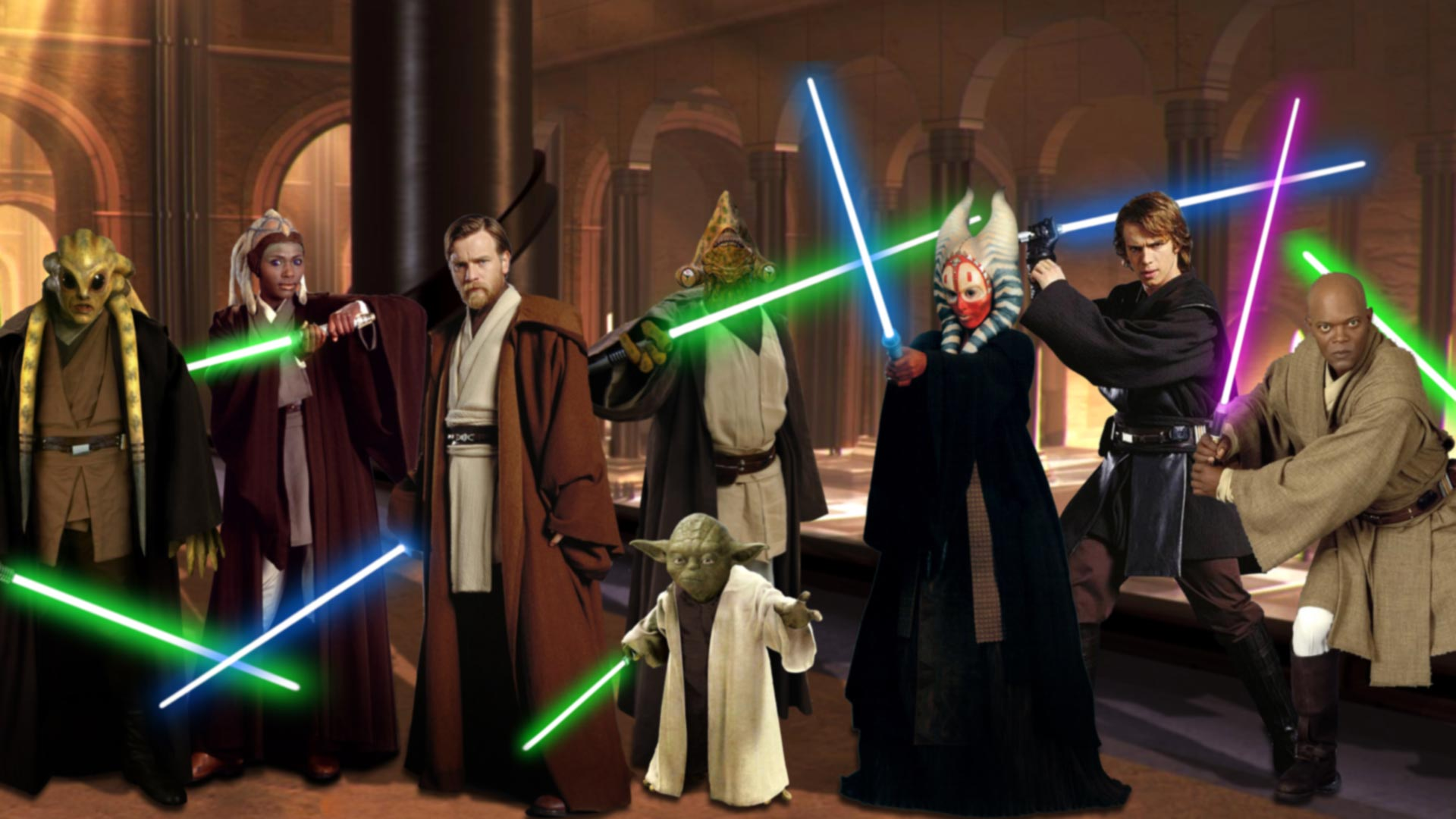 Star Wars Jedi Night 24