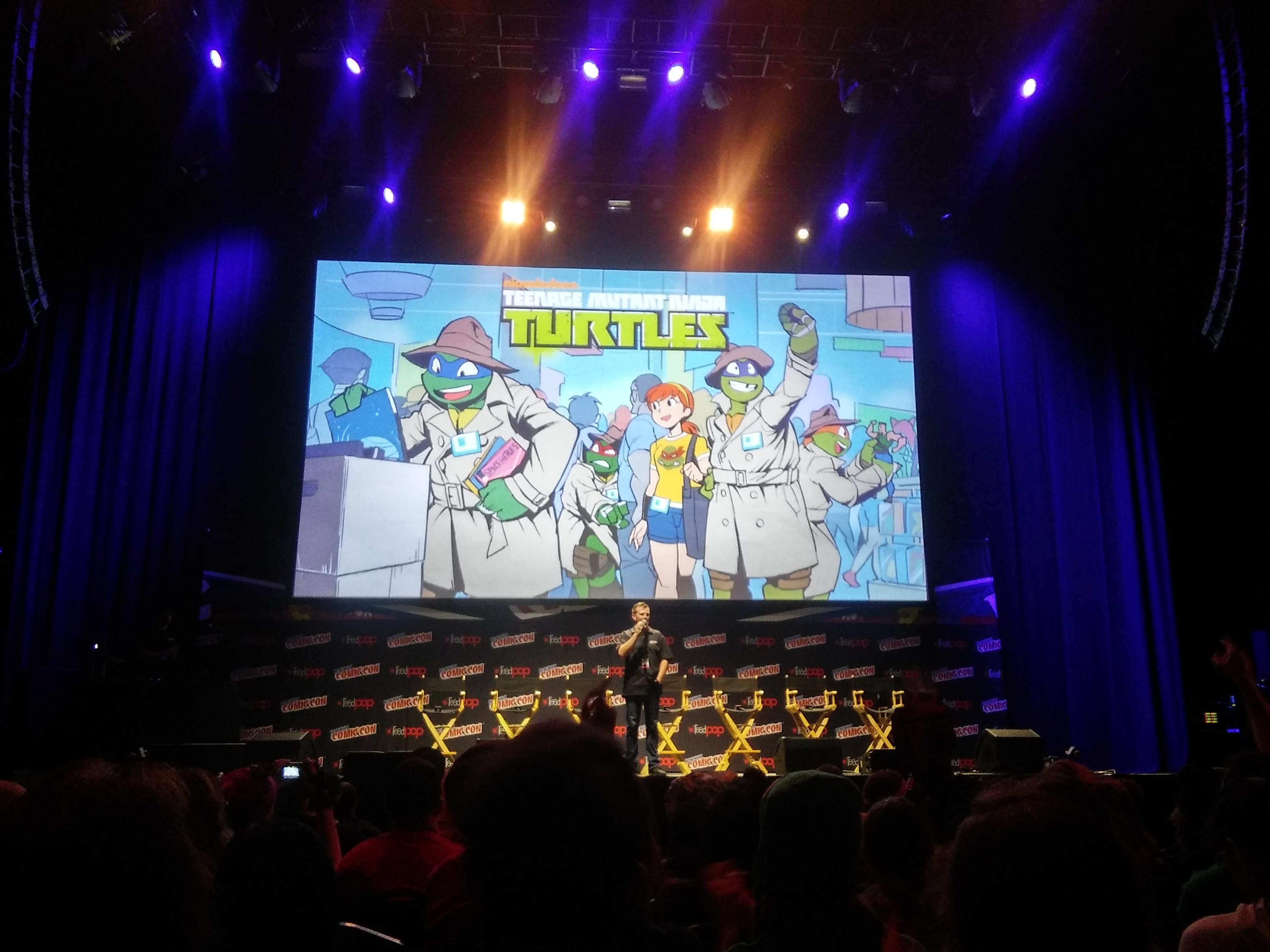 Ninja Turtles NYCC 2016