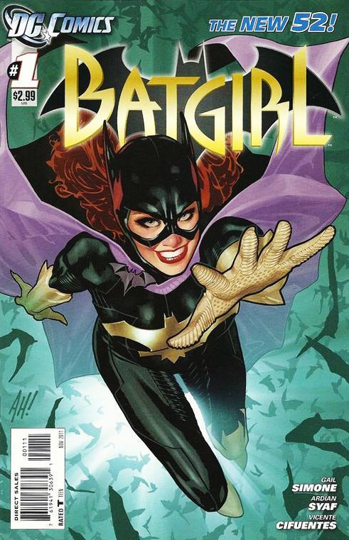 Batgirl #1 cover