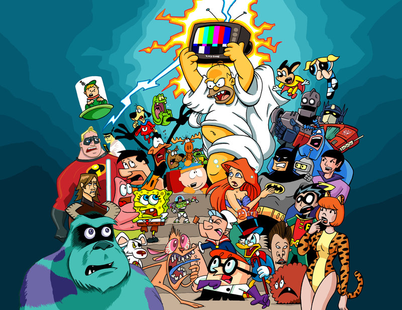 cartoon-characters-from-80s-and-90s-by-Dunlavey
